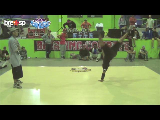 Sinistro vs Jackass - FINAL - Powermove - Breaking Combate - BreakSP Battles