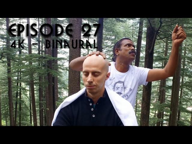 World's Greatest Head Massage 49 - 4K bonus - BINAURAL - Baba the Cosmic ASMR Barber