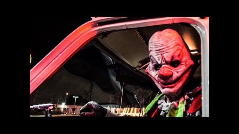 Killer Clown X Scare Prank - Las Vegas Clowns Sightings