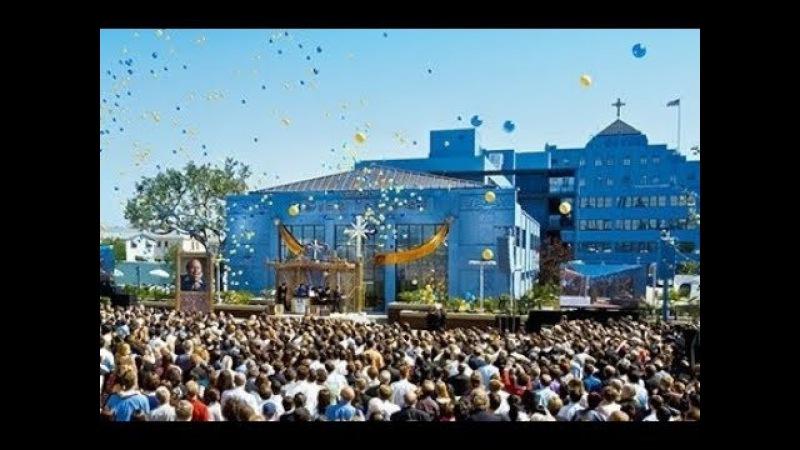 Саентология в Лос-Анджелесе, США - официальная церемония открытия церкви