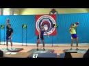 Russian military championship Ilya Tashlanov VS Aleksander Khvostov snatch 32 kg kb