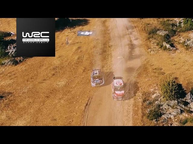WRC 2017 07 Rally Italia Sardegna aerial analysis Tanak vs Breen