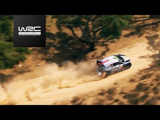 WRC 2017 07 Rally Italia Sardegna aerial special