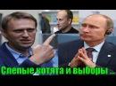 Путин - Навальный - и слепые котята