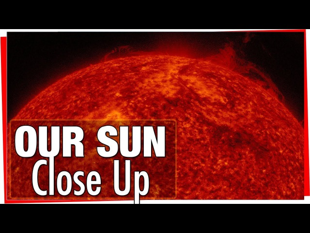 Our Wonderful Sun: Fantastic video with real detailed footage of the suns surface