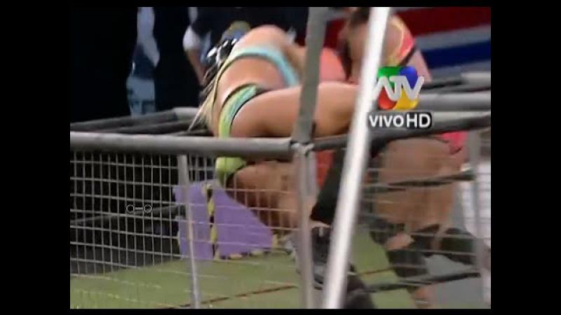 ALEJANDRA BAIGORRIA sufre CAIDA PELIGROSA COMBATE 01/09/2014