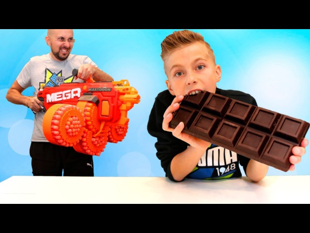Very Funny Baby Giant chocolate Accident! Johny Johny Yes Papa Song Nursery Rhymes Song for