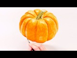 How to paint a realistic pumpkin in watercolour with Anna Mason