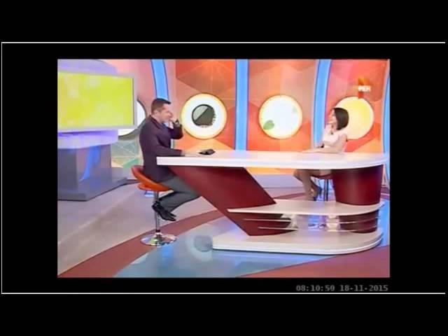 Жанна Серопян на Рен-ТВ - С Бодрым Утром!