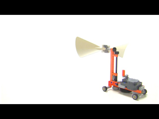 Wind car : LEGO Technic