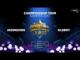 JasonZhou vs OldBoy - Hearthstone Championship Tour Summer