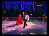 Танец Анастасии Заворотнюк и Петра Чернышева