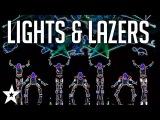 MOST AMAZING Lights &amp Lazers Shows on Got Talent Got Talent Global