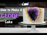 How to Make A Geode Cake   CHELSWEETS