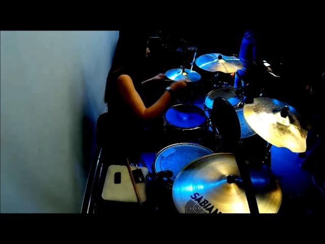Samgabial - Drumcam soundcheck at Dark Metal Merger (20.10.2017)