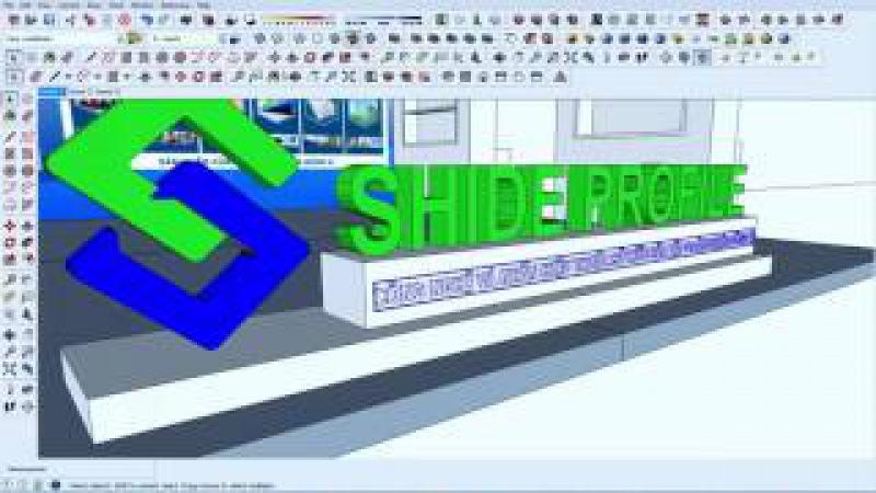3D Exhibition Booth - Huong dan dung gian hang trien lam - tu A - Z