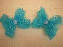 Милые Воздушные БАНТИКИ /DIY /KANZASHI / Bow Ribbons /Make Hair Bow. /Flower / Tutorial /