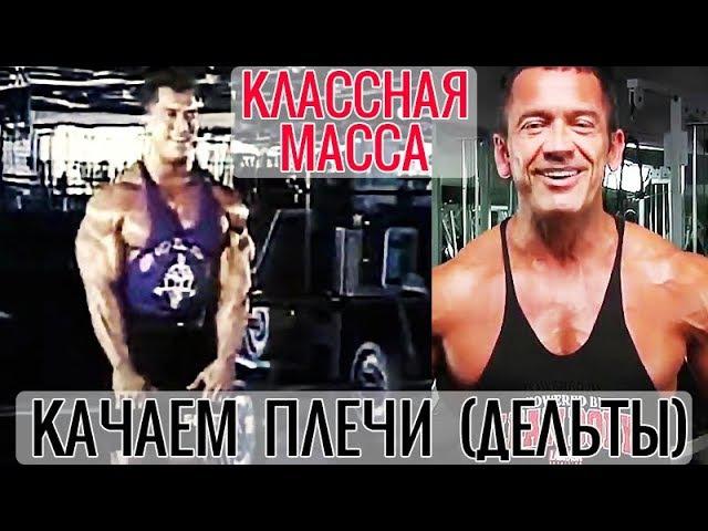 Как НАКАЧАТЬ ПЛЕЧИ (ДЕЛЬТЫ) - КЛАССНАЯ МАССА с ЛИ ЛАБРАДОЙ (На русском языке, озву ...