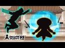 ЧТО ЭТО ЗА МАГИЯ Победил ОТШЕЛЬНИКА! Мультик для детей про бои с тенью Игра Shadow Fight 2