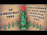Very Easy and Beautiful Christmas Tree 🎄 Handmade Christmas tree 🎄 Lina's Craft Club