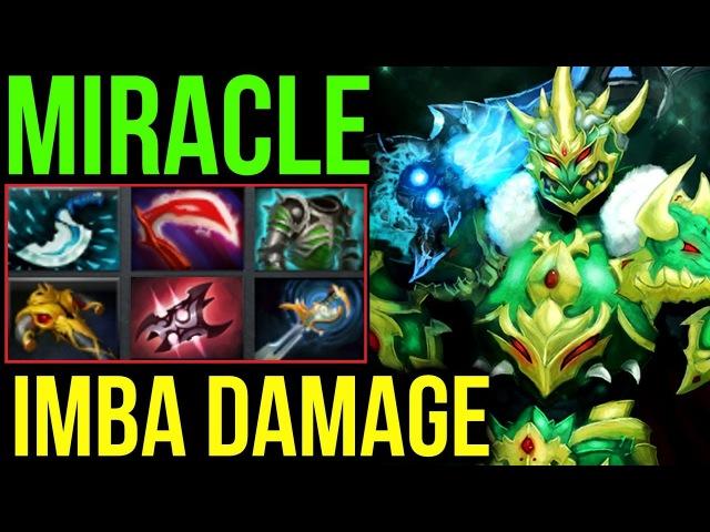 Miracle- Dota2 [Wraith King] Fight Like a Man! Imba Damage