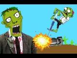 ЗОМБИ ПОПРЫГУНЧИК веселое видео игра как мультик для детей про необычного ЗОМБИ...