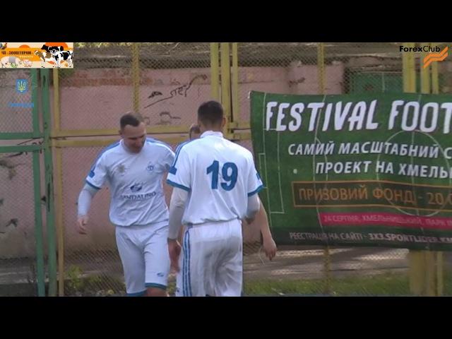«Зооветпром-Поділля» – «Динамо-ГУНП» – 0:7 (0:2)