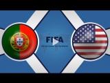 Португалия 1:1 США | Товарищеские матчи 2017 | ОБЗОР