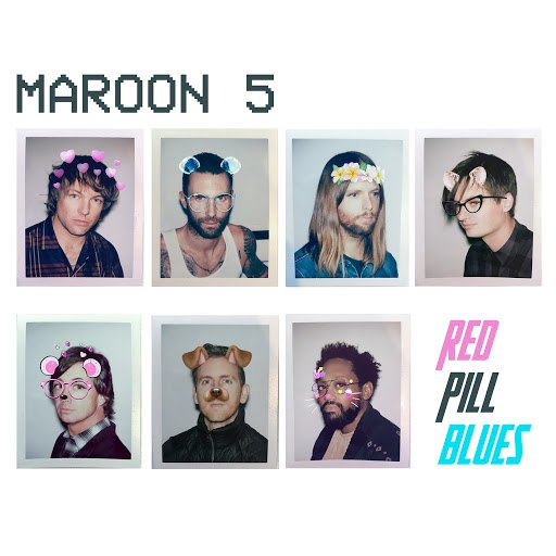 Maroon 5 альбом Red Pill Blues