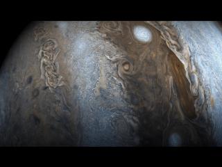 Юпитер, снятый аппаратом Juno. Шон Доран