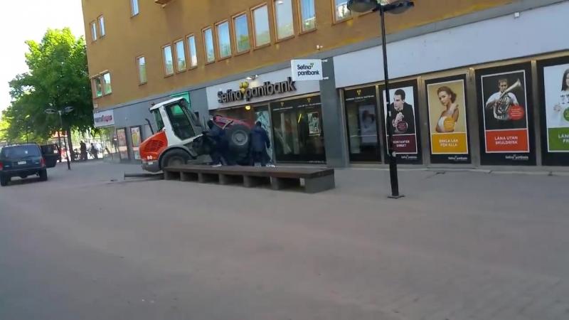 Грабёж ломбарда в Стокгольме (Борода Викинга)
