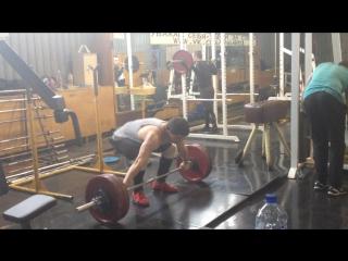 Veliev Il'nur - Power snatch - 130kg@85kg