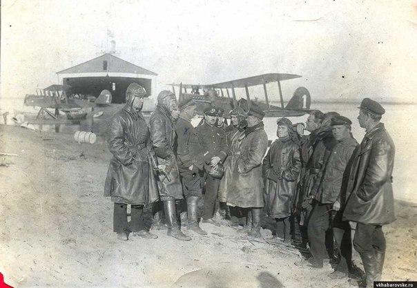В Хабаровске находилась крупная база гидросамолетов