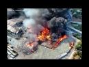 Большой пожар на Мальте в Марсаскала Большое пламя и громадный столб ядовитого дыма над мусорным заводом Cleanmalta 23 05 2017