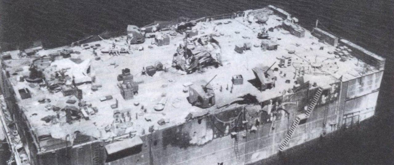 Советская плавучая зенитная батарея ПЗБ № 3 «Не тронь меня!». Севастополь, 1941 - 1942гг.