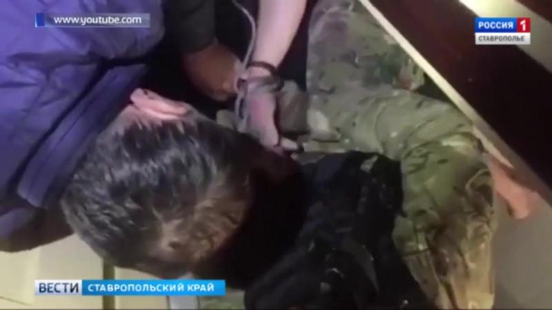 Ставропольца-вымогателя взяли штурмом в Крыму