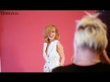 Бэкстейдж съемки Глюк`оZы для Woman.ru