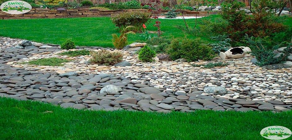 Камни для ландшафтного дизайна в Малоархангельске