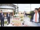 Бармен шоу и пирамида с шампанским на свадьбе в г. Елабуга. Фанис Сафиуллин