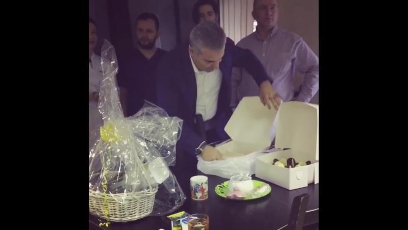 С днем рождения наш дорогой доктор Али!