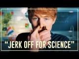 Ренс нюхает попперсы во время мастурбации   Drugslab
