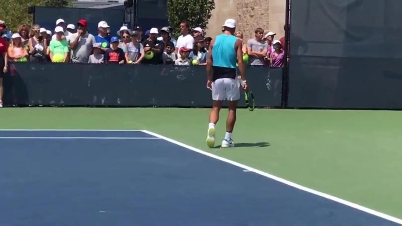 Practice 15.08.2017 Rafael Nadal » Рафаэль Надаль