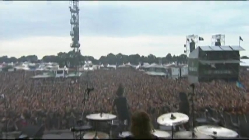 As I Lay Dying Throught Struggle Live at Wacken Open Air Festival in Germany 02 08 08