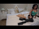 Anisyia Livejasmin muff stretched by BIG shlong while buttpluged