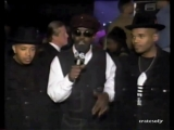 The 1st Annual Source Hip-Hop Music Awards 1994 (The Paramount, Madison Square Garden) April 25, 1994 - Fab 5 Freddy + Run-DMC
