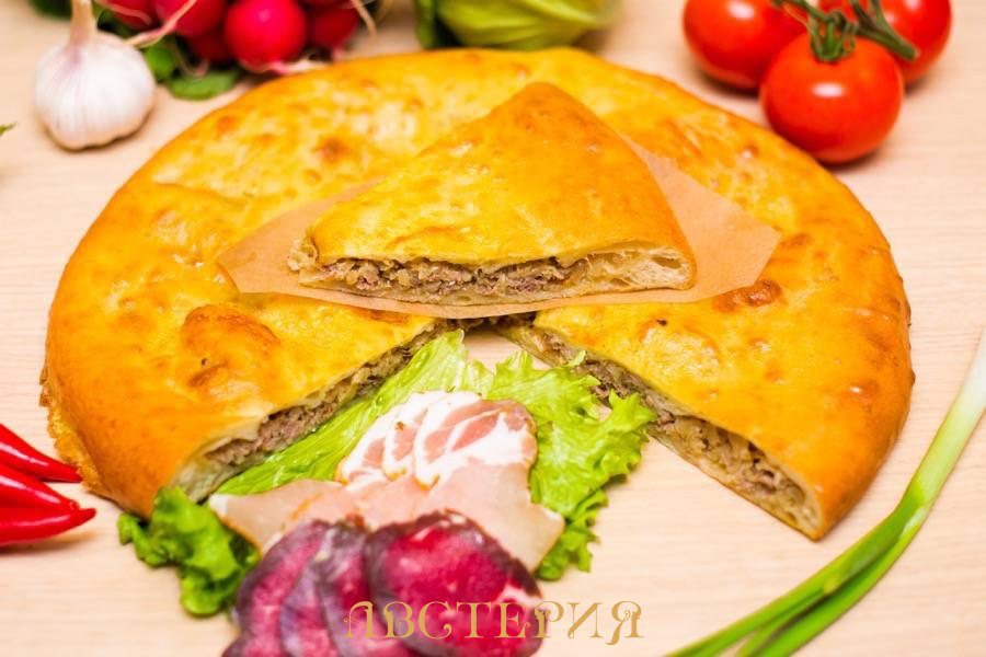 Пирог с капустой и мясом цена в Санкт-Петербурге