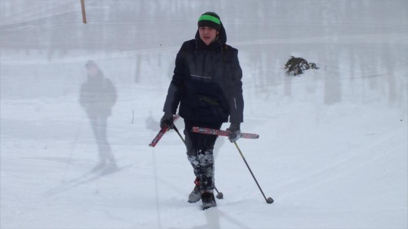 Охотники на снегу