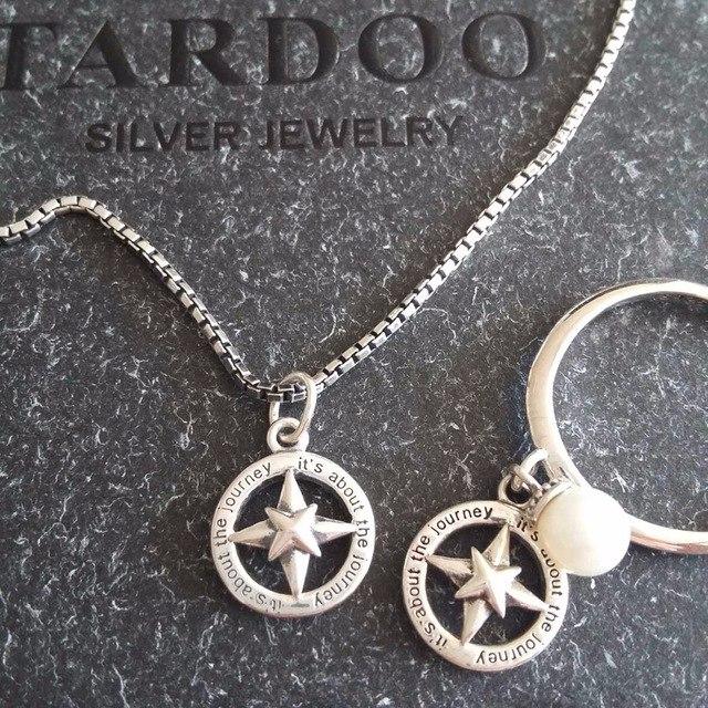 Серебряные цепочка и подвеска Tardoo
