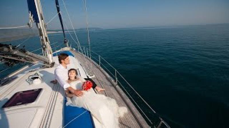 Черное море, палуба, шампанское и любимые, отдыхаем Душой