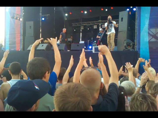 Концерт Олега Газманова в Луганске 5 08 2017 газмановлуганск